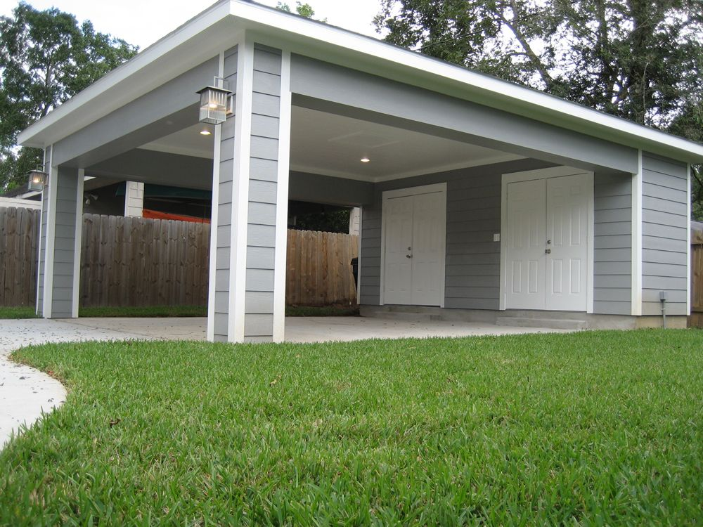 Remodel Houston Garage Carport Addition (With images