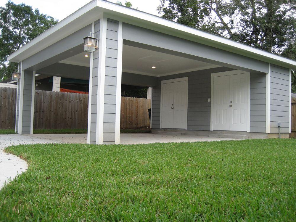 Remodel Houston Garage Carport Addition Dom Snaruzhi