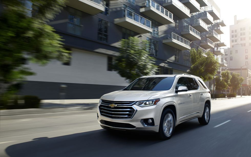 2021 Chevrolet Traverse Review Pricing And Specs In 2020 Chevrolet Traverse Chevrolet Chevy