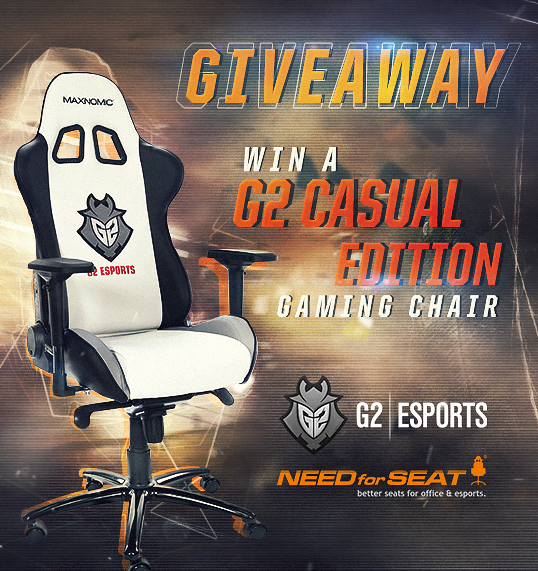 Win a G2 Edition Need For Seat Gaming Chair! https//wn.nr
