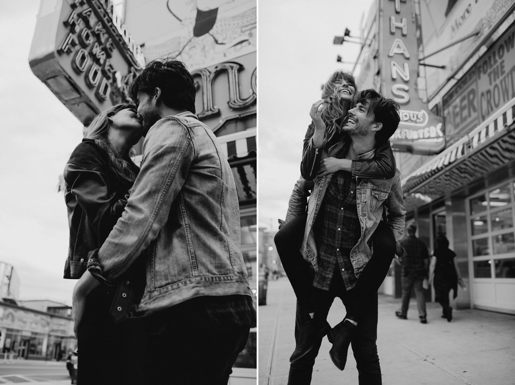 Coney Island Lovers // Phil Chester Couple photography