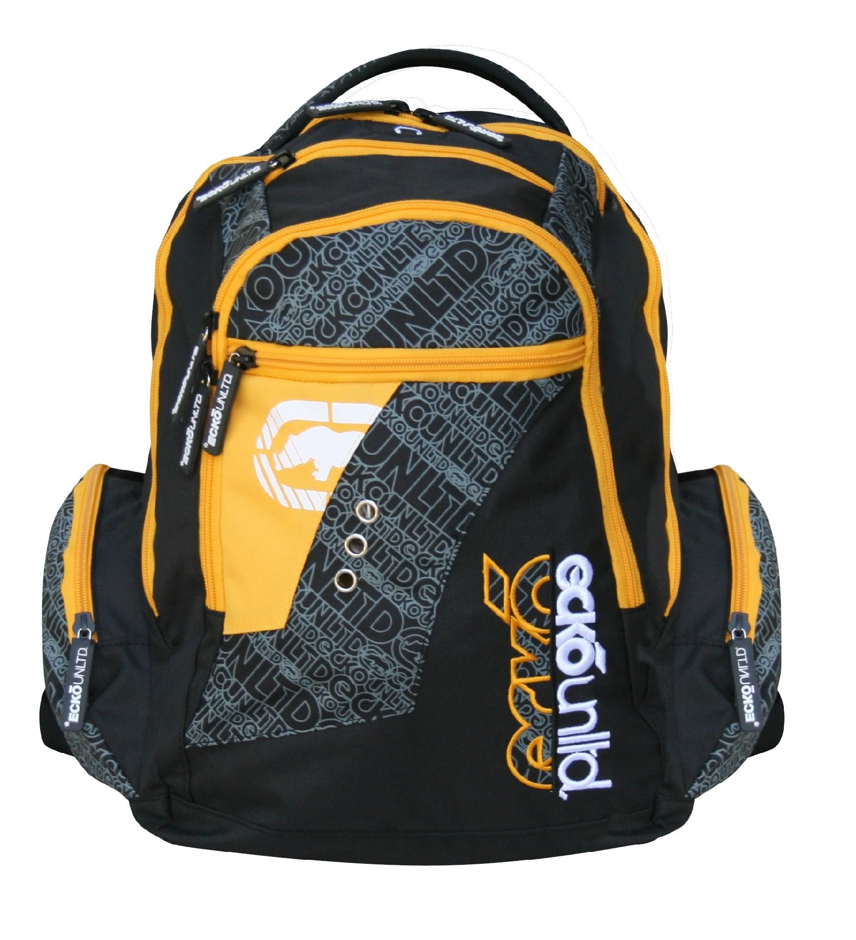 Black/Yellow Backpack Ecko751-071