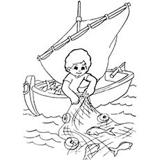 Fisherman Coloring Pages For Your Kids Fathers Day Coloring Page Coloring Pages Fish Drawings