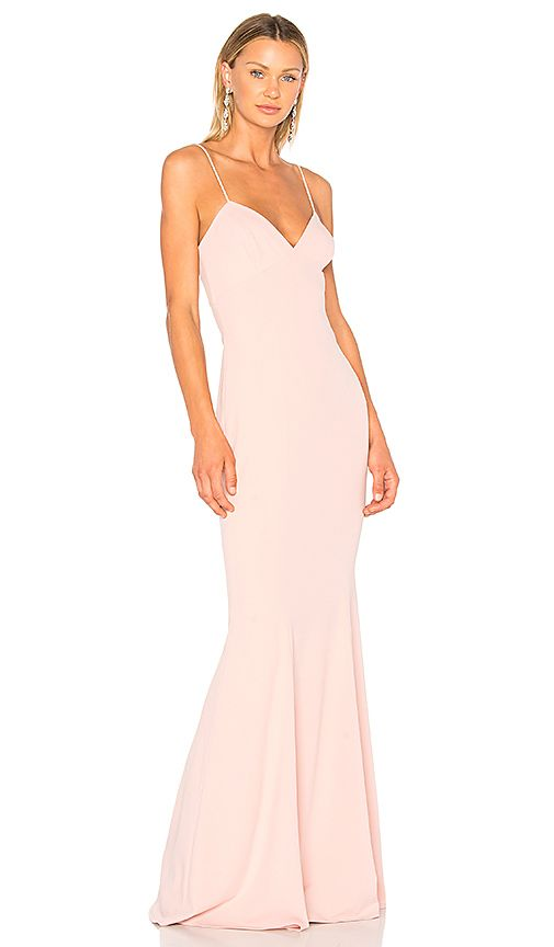 Shop for Katie May Luna Gown in Dusty Rose at REVOLVE. Free 2-3 day ...