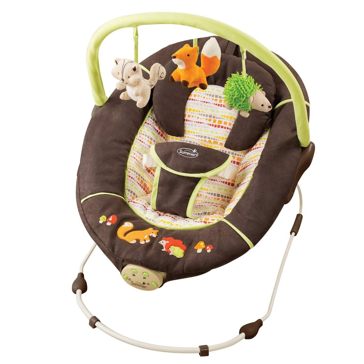Pour Les Jumeaux Chaise Vibrante Baby Bouncer Baby Swings Summer Baby