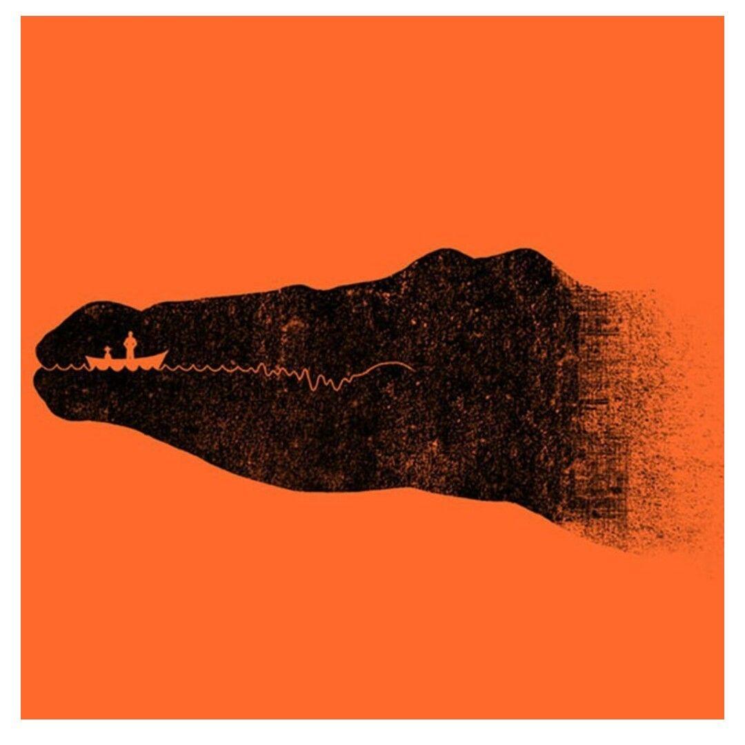 خداع بصري ٢ ألق نظرة على الصورة أعلاه ماذا ترى إذا رأيت تمساح فهذا يعني أنك عادة تنظر إلى الصورة العامة لل Negative Space Art Space Illustration Op Art