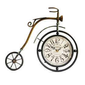 Picture of Metal Bicycle Clock - 13.7 X 13.5 in.