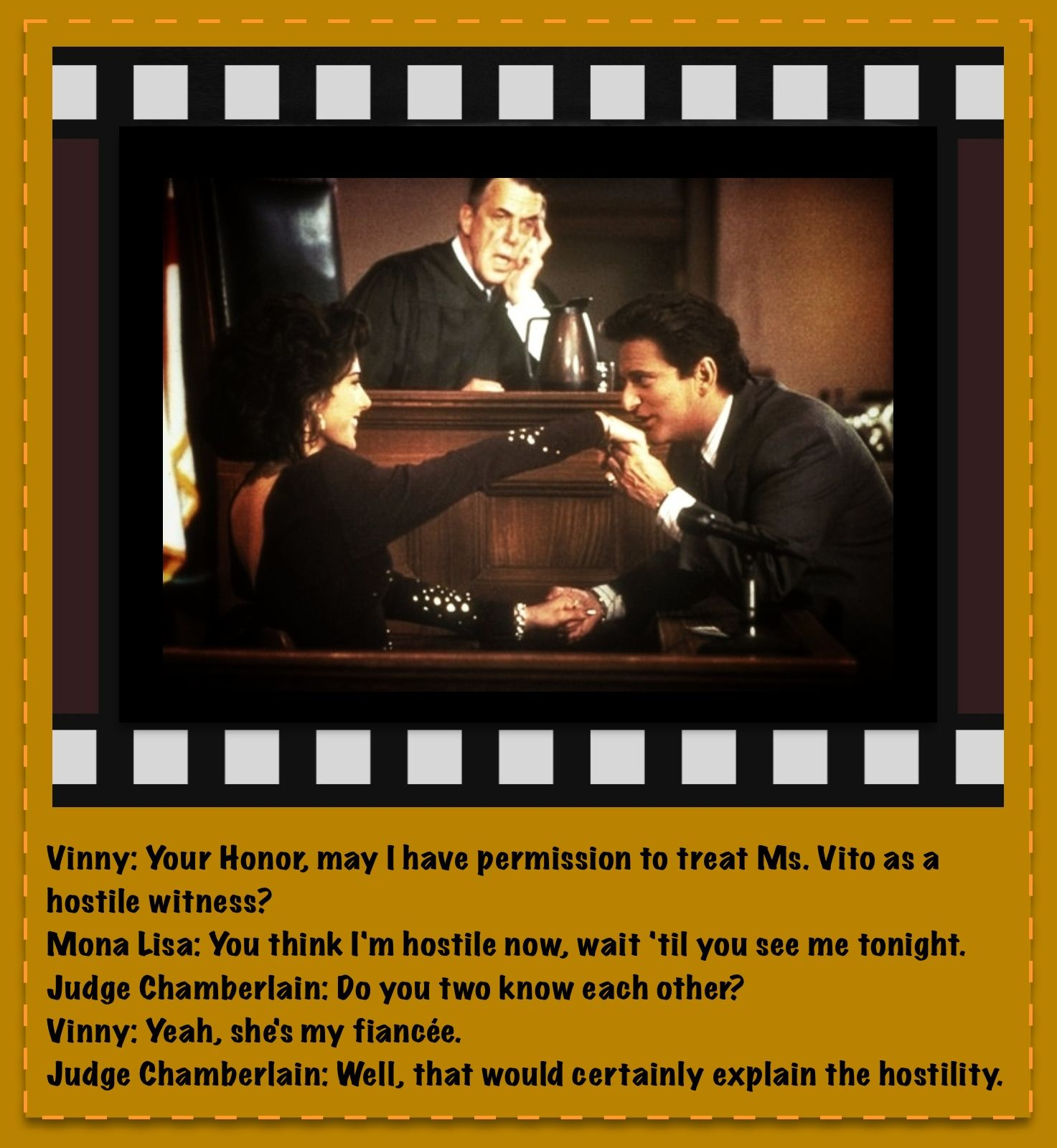 My Cousin Vinny Quotes My Cousin Vinny  Epic Movie Quotes  Pinterest  Movie Tvs And Book Tv