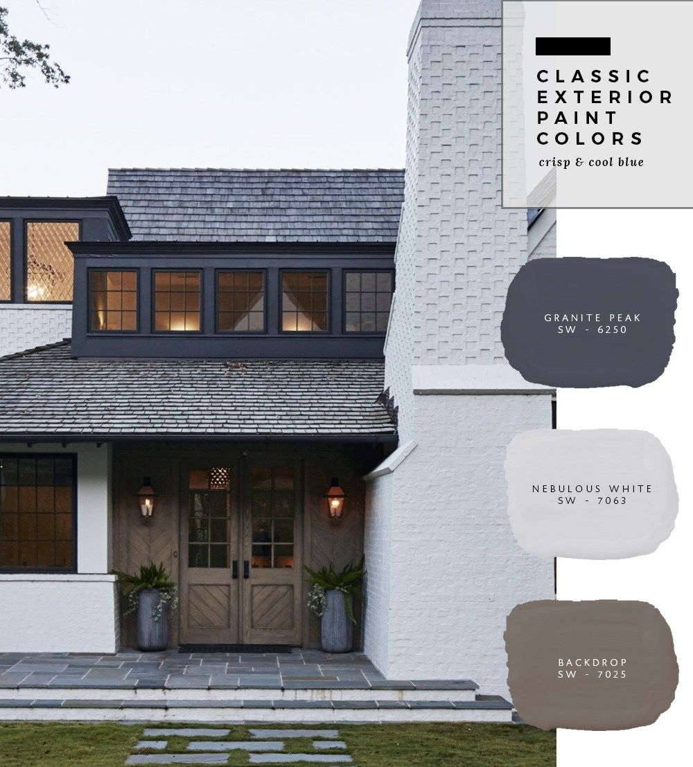 Exterior paint color combinations fixer upper - House paint color combinations exterior ...