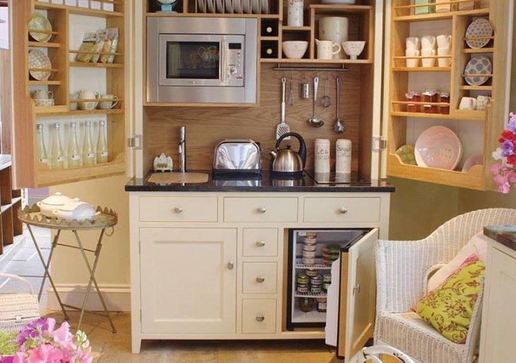 Kuchnia W Szafie Wnetrza Inspiracje Home Kitchens Kitchen Design Kitchenette