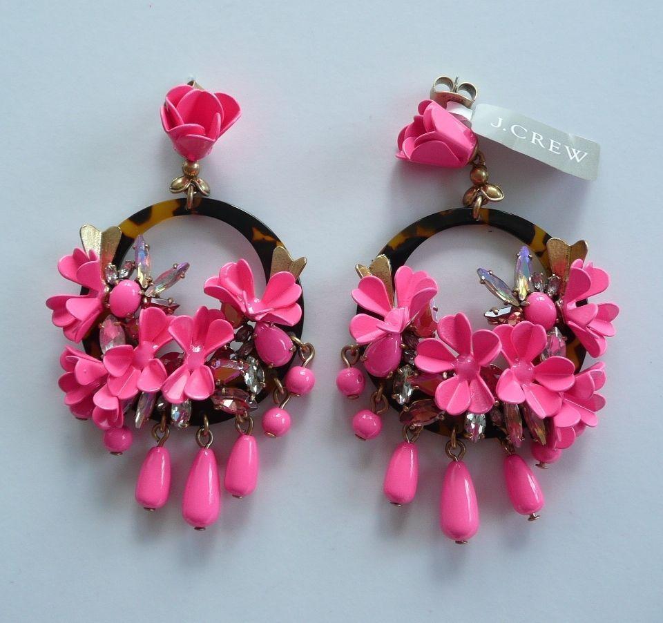 J crew mardi gras earrings