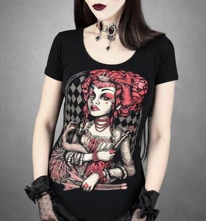 Camiseta Chica MC Red Queen