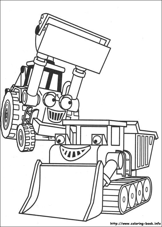 Nice Bob The Builder 95 Coloring Page Bob The Builder Coloring