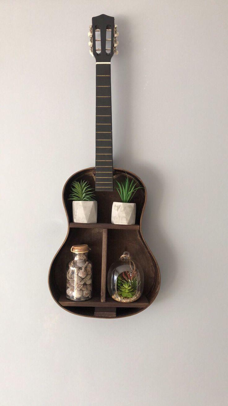 Akoestische gitaarplank #musicdecor