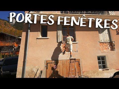 VideoTuto - EXPLOSION DES PORTES FENÊTRES - Passion Rénovation Ep7
