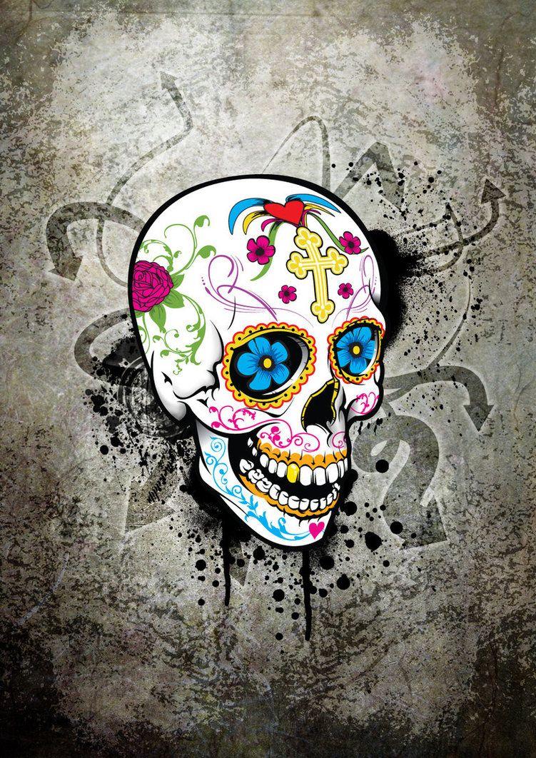 Free Sugar Skull Wallpaper | Cool HD Wallpapers