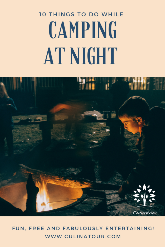 Things to Do While Camping at Night: 10 Nighttime Camping ...