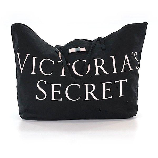 e4ef0334521e Pre-owned Victoria s Secret Tote  Black Women s Bags (€43) ❤ liked ...