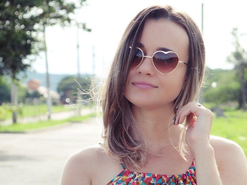 Bianca Schultz   Blog de Moda e Beleza: Look: vestidinho colorido