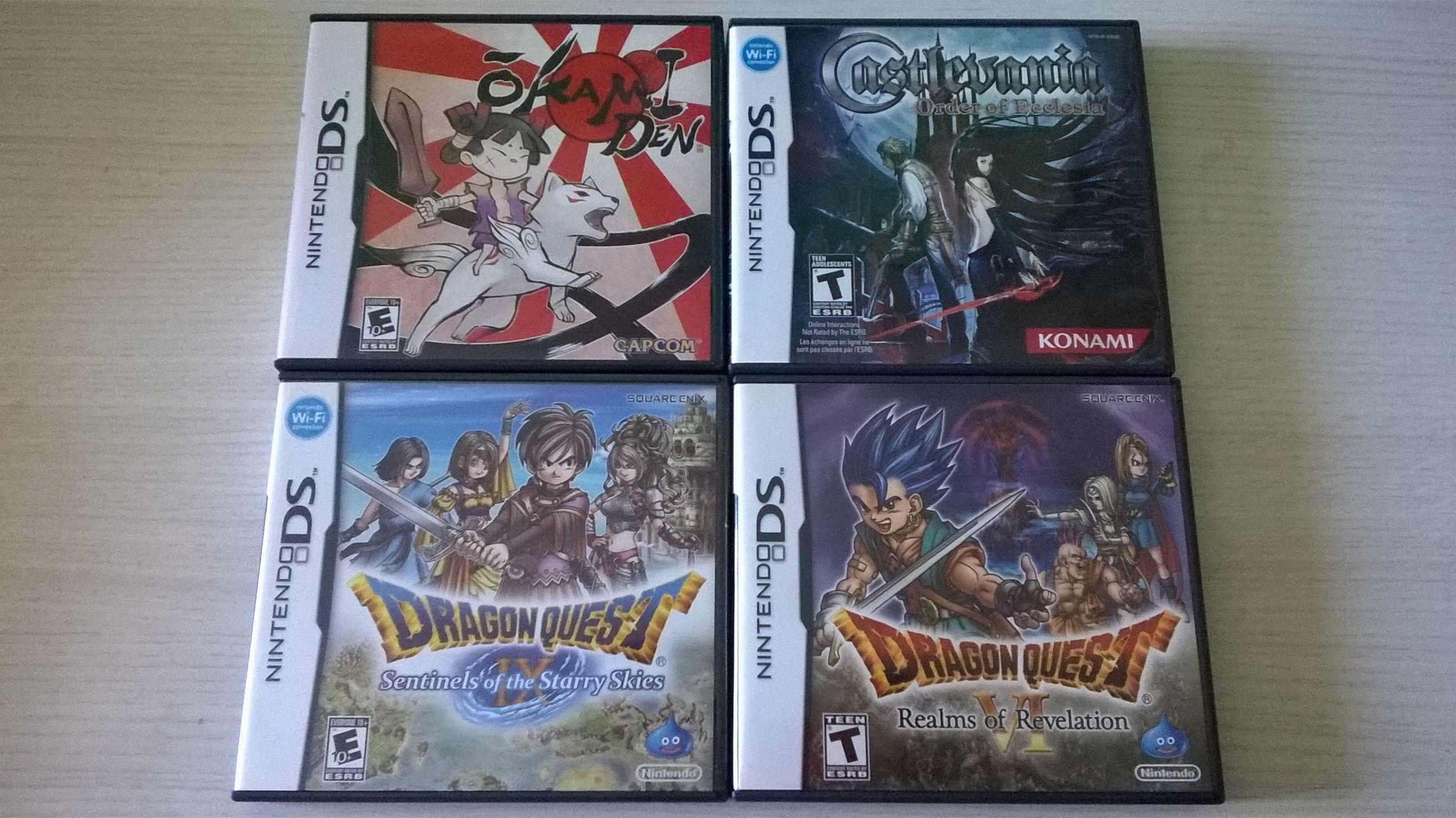 Vendo jogos DS e 3DS, CDs de OSTs (+Dragon Quest, + Castlevania, e outros) Db2eb37d0b9c2c3256fde5865d288448