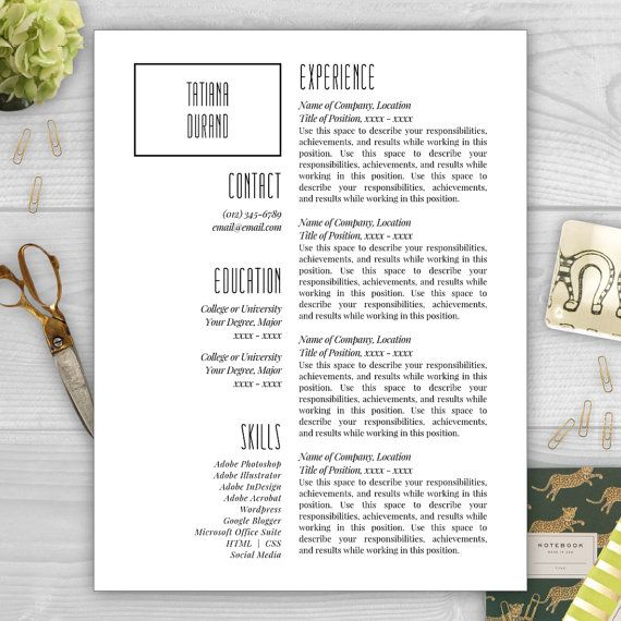 Make your résumé stand out with a creative and professional résumé