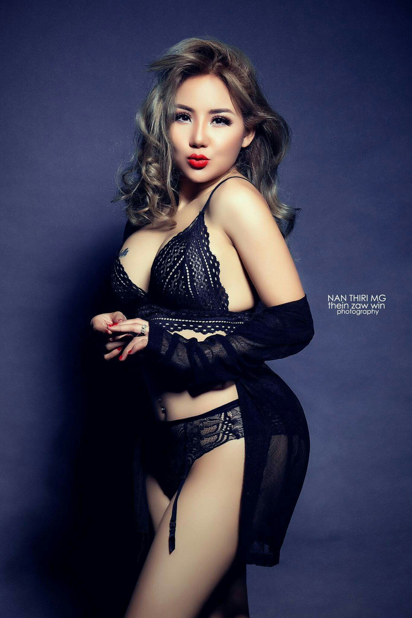 Nan Thiri Mg Super Hot Photos