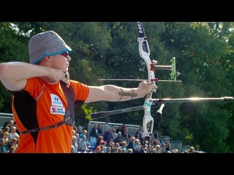 Archery in slow motion | Recurve bow | Odense 2016 - YouTube ...