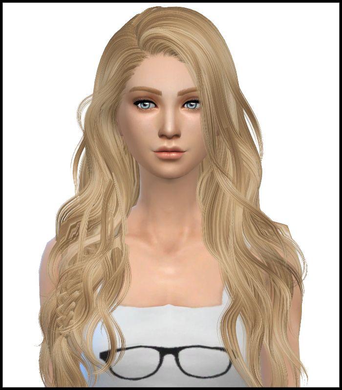 sims+4+custom+hair David_Titanium