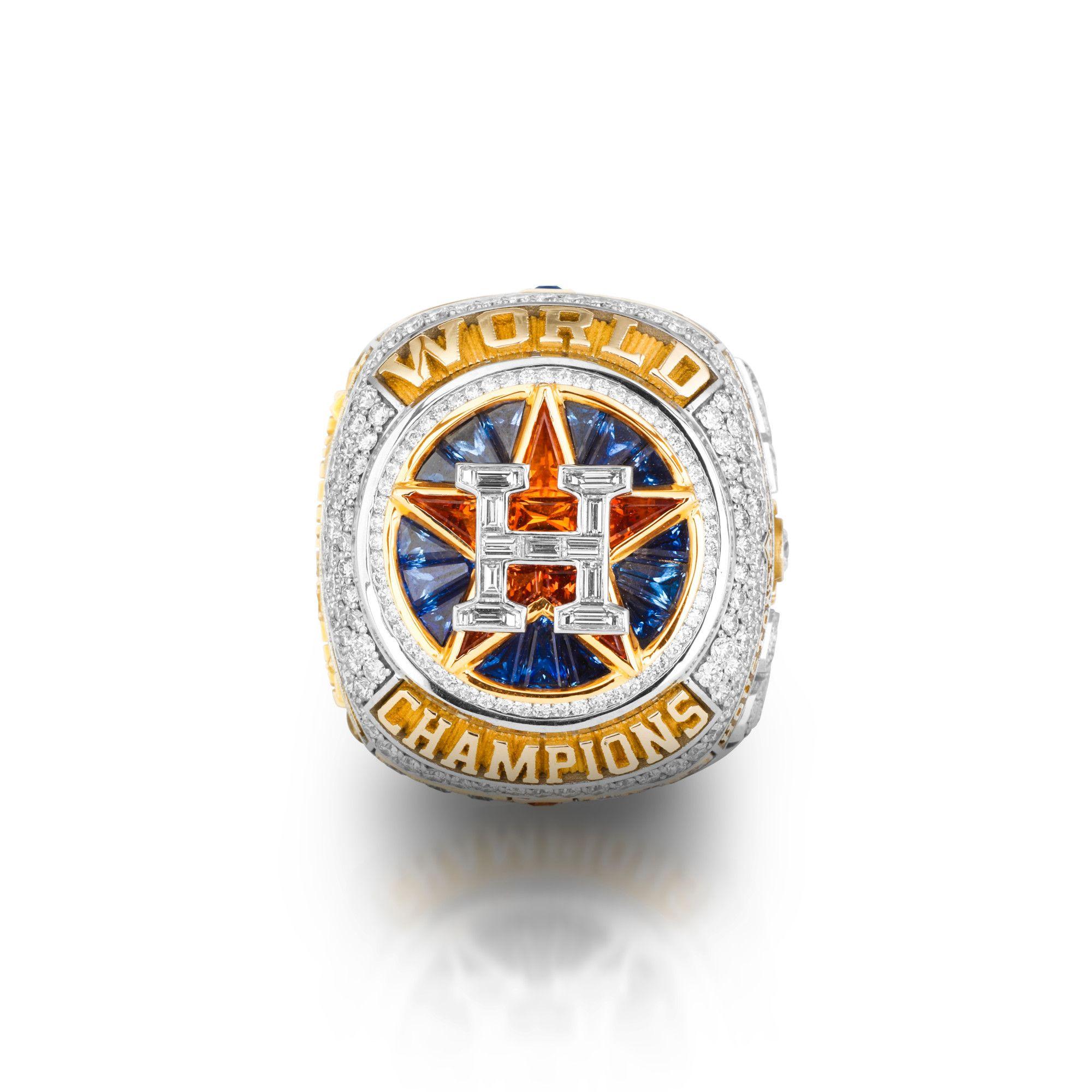 10 Amazing Details On The Houston Astros World Series Rings World Series Rings Astros World Series Baseball World Series