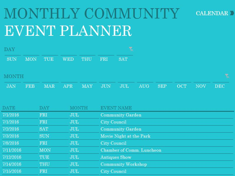 Event Planning Calendar Template In 2020 With Images Event