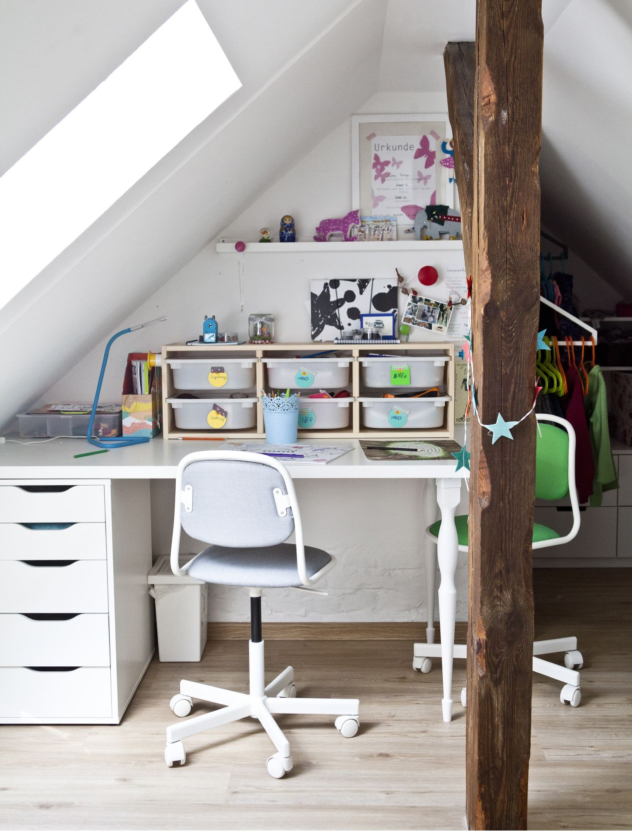 Add Hooks And Shelves So Kids Can Personalise Their Room With Their  Favourite Toys And Drawings