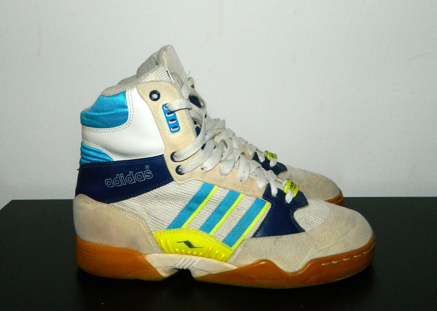 2906e500ae RARE ADIDAS ORIGINAL Torsion Handball Super High 1992 1990s Korea US ...