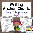 Writing Anchor Charts - Rockin Beginnings Free
