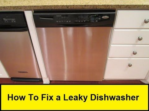 My Dishwasher Had A Hole In The Bottom Of The Plastic Liner Here Is How I Fixed It Dishwasher Fix It Plastic Liner