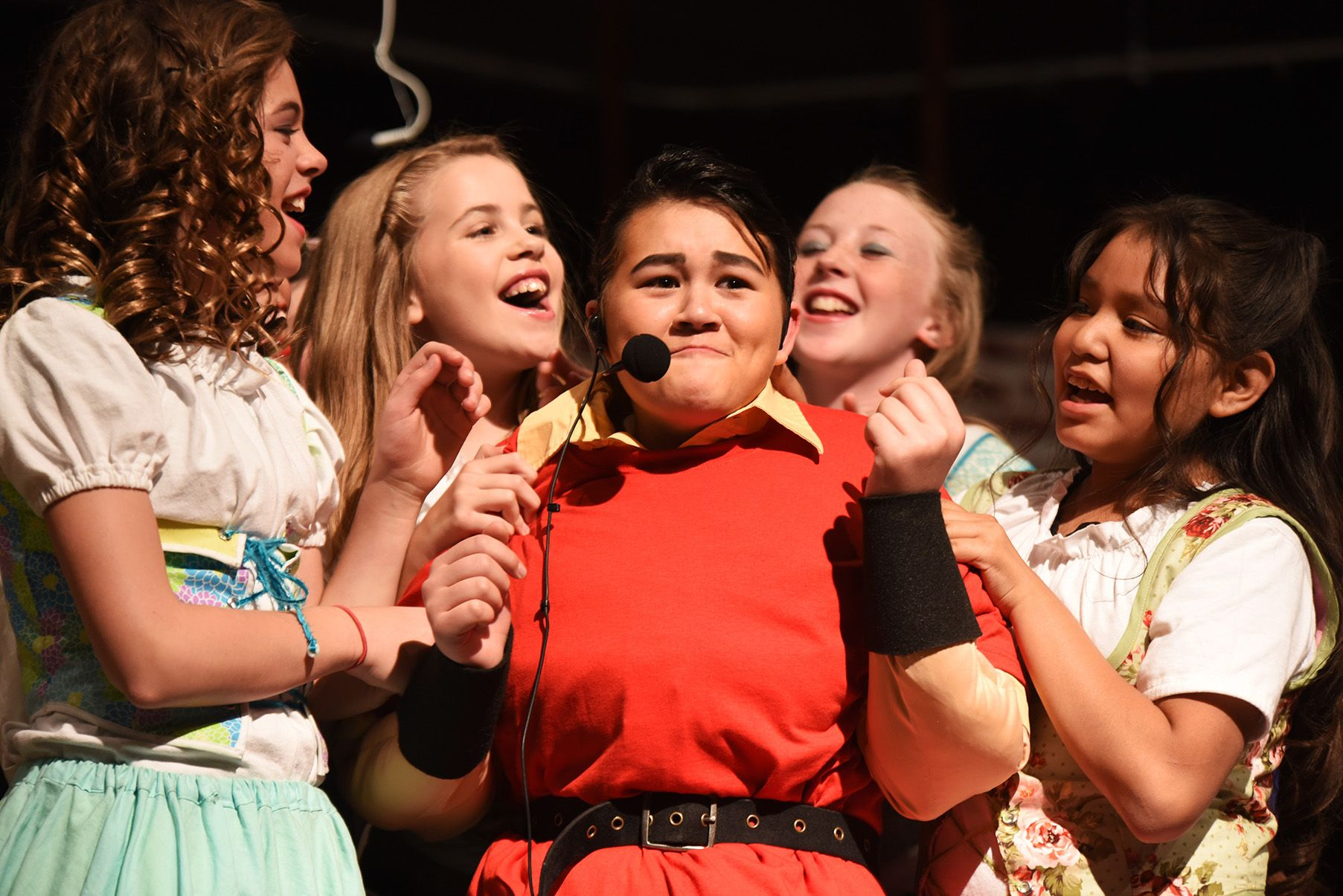 Lana Arends Fifth Grade Performs As Gaston In Disney S