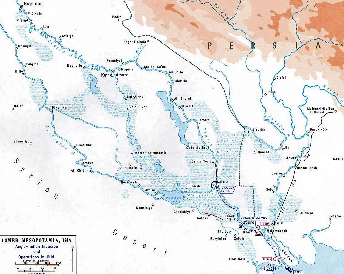 Map of wwi mesopotamia 1914 map pinterest wwi and history map of wwi mesopotamia 1914 gumiabroncs Image collections
