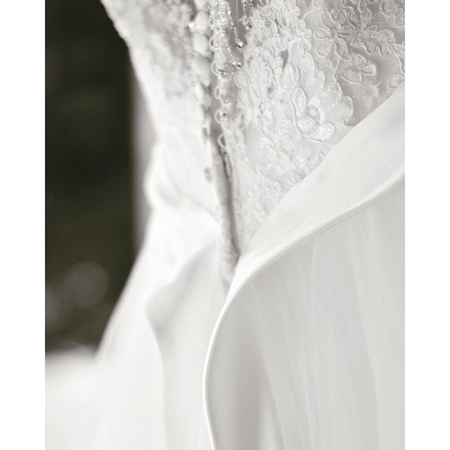 Wedding Dress Details / Button-Up