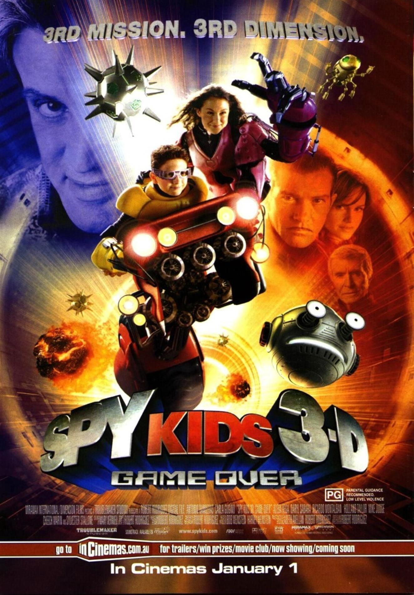 Kemkolykok 3d Game Over 2005 Spy Kids 3d Spy Kids 3d Game Over Spy Kids 3