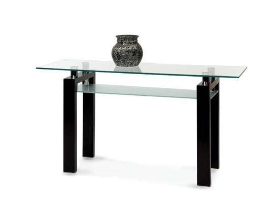 Dania   Accent Tables   Caroline Console Table Venge