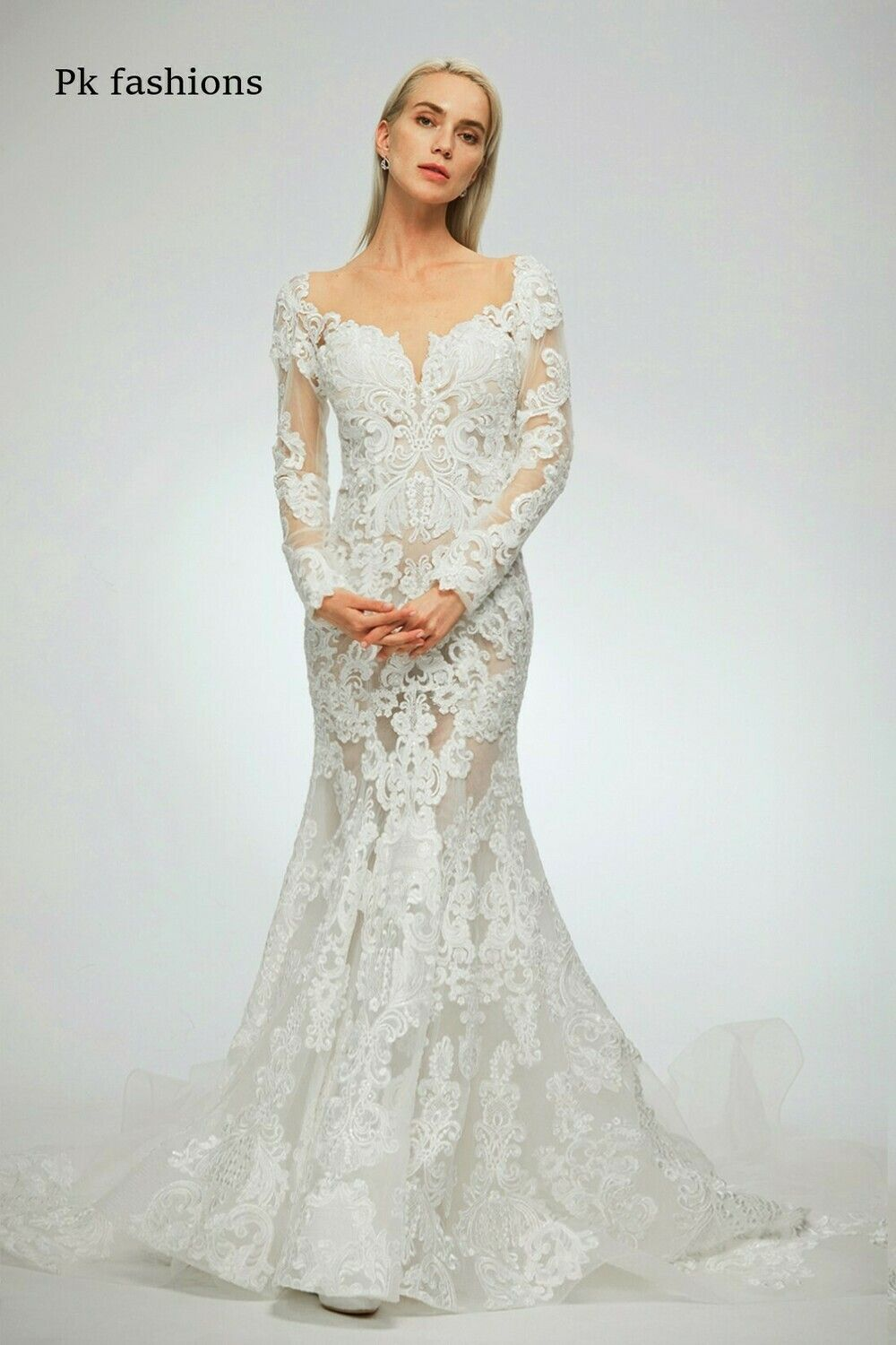 Kp Fashions Lace Wedding Dress Size 12 In 2020 Size 12 Wedding Dress Wedding Dress Couture Boston Wedding Dress