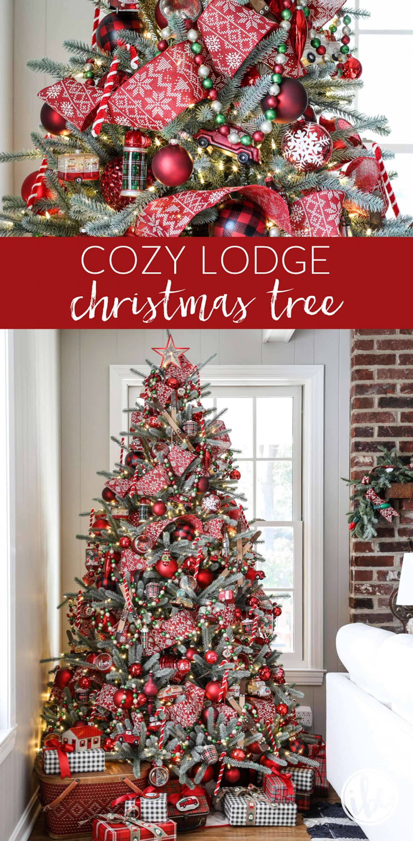 Ideas For Cozy Lodge Christmas Tree Decorations Christmastree Decor Holiday Decorations Christma Christmas Lodge Christmas Tree Christmas Tree Decorations
