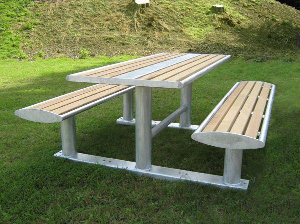 Steel Picnic Tables Google Search Muebles Para Casas Pequenas Muebles Hierro Y Madera Muebles De Metal
