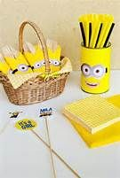 Girl Minion Baby Shower - Baby Shower Ideas - Themes