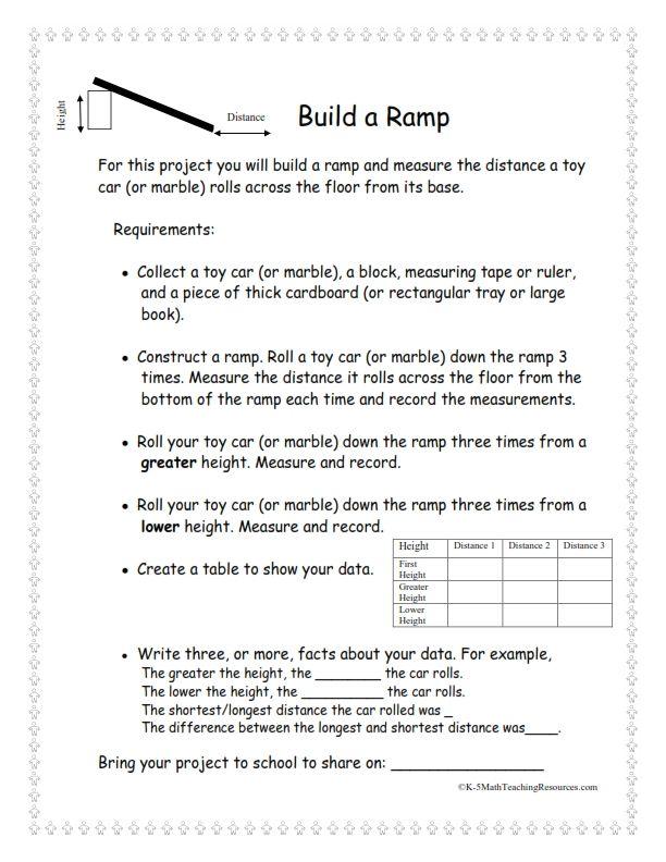 Math Projects K-2 | 2nd Grade Measurement | Pinterest