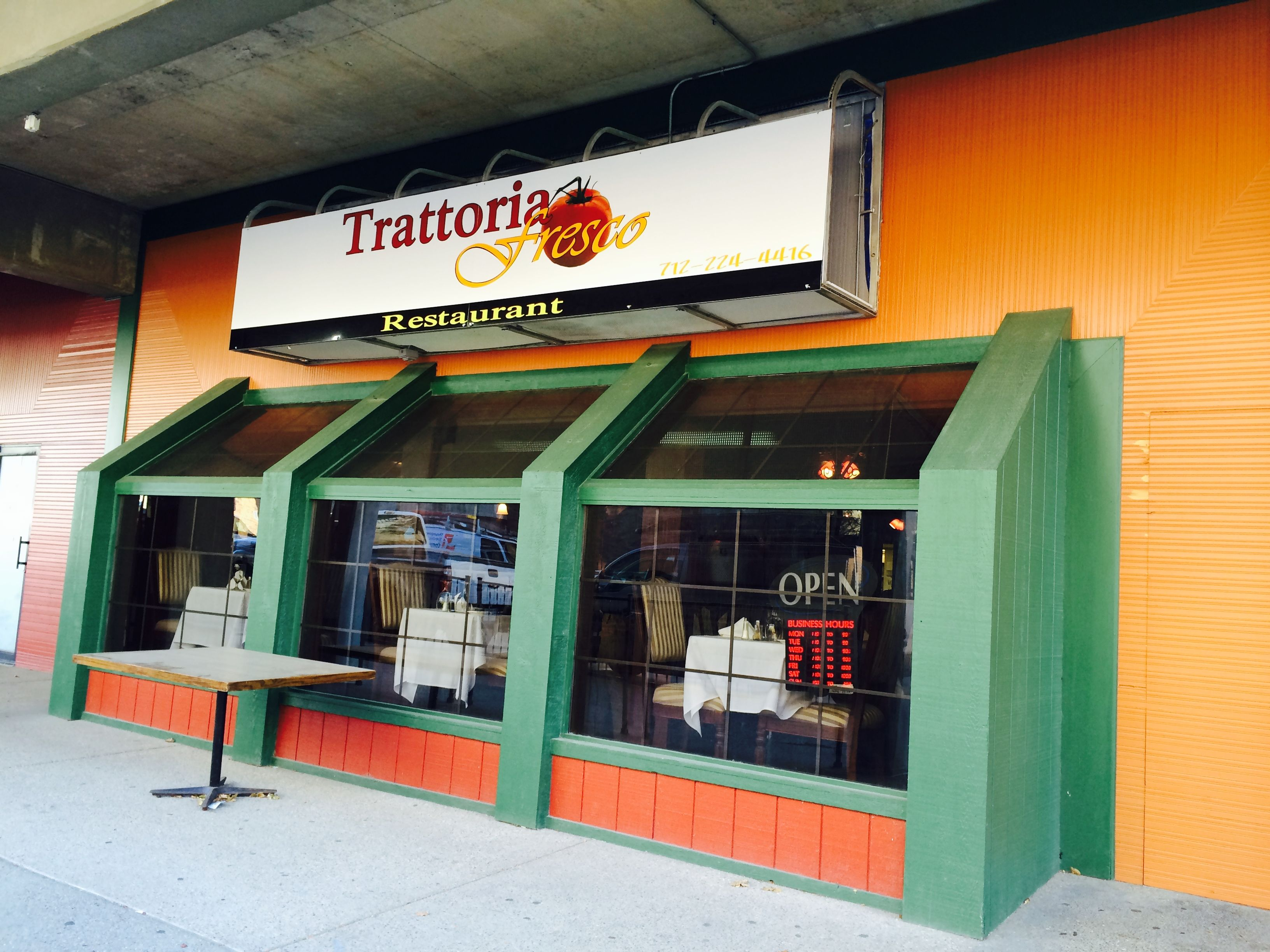 Trattoria Fresco is fresh, familystyle dining at an
