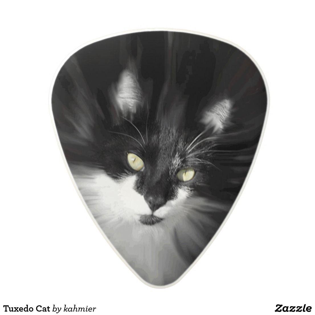 Tuxedo Cat Polycarbonate Guitar Pick