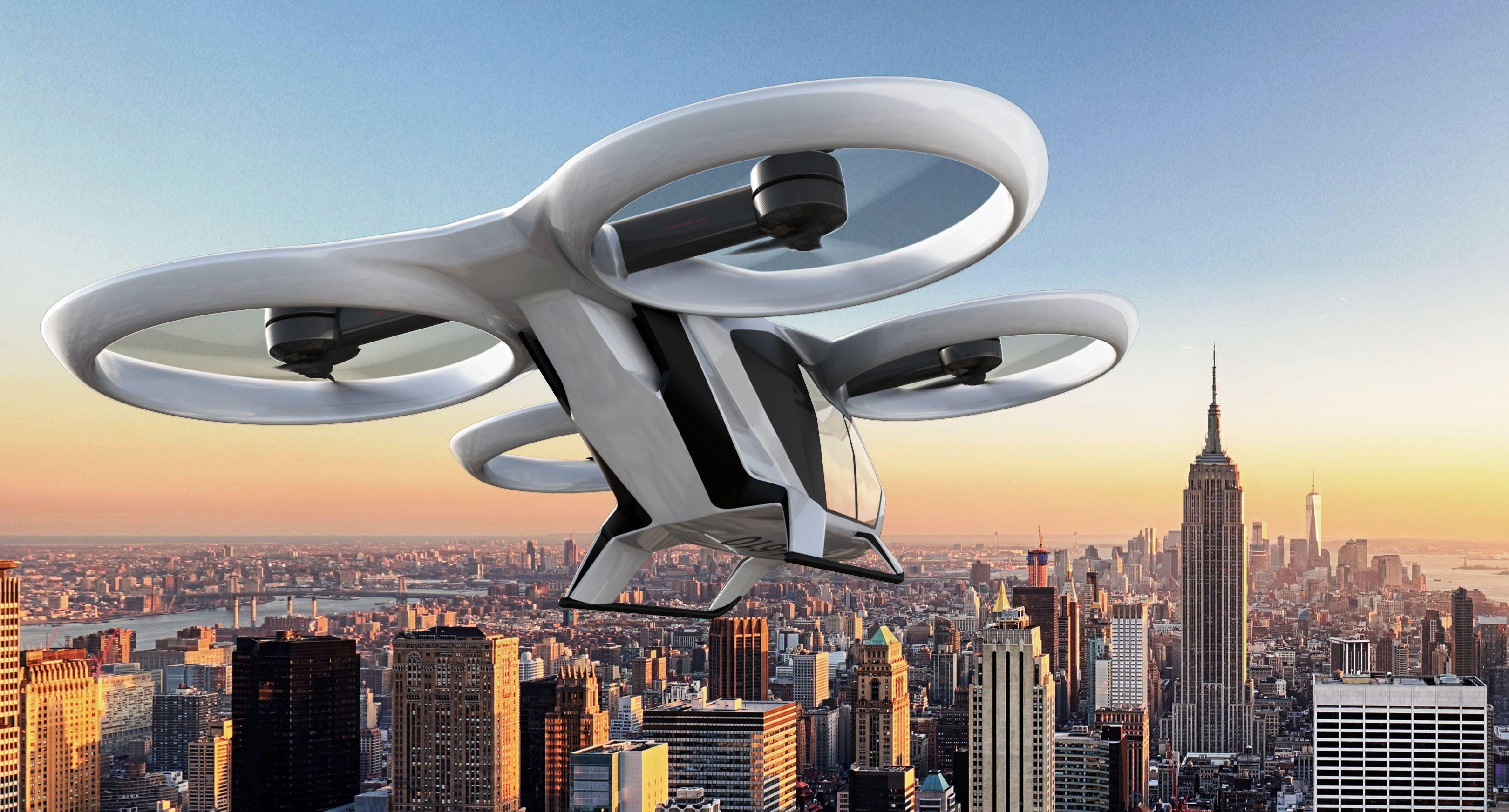 Airbus поднимет в небо прототип аэротакси будущего в 2018