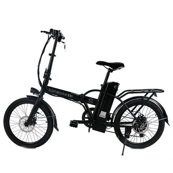 2d284982159 Just $635.49, buy Samebike JG - 20 Smart Folding Bike Moped Electric Bike E-bike  online shopping at GearBest.com Mobile.