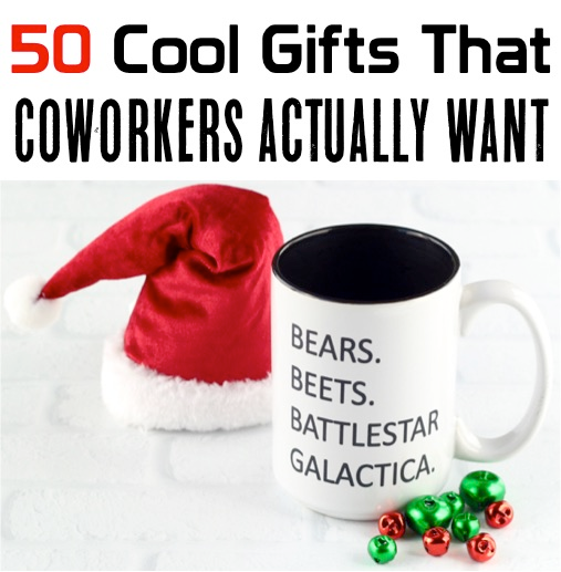 Coworker Gift Ideas! (55 Epic Secret Santa Gifts) - Never Ending Journeys #coworkerchristmasgiftideas Coworker Christmas Gift Ideas!  Check out these fun gifts that your coworkers will LOVE! #secretsantagiftideas