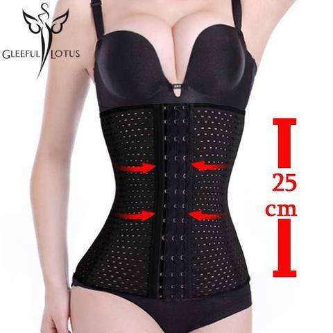 26af5354a0a Modeling strap Black waist cincher slimming sheath belly reduce belts fajas  corselet ardyss body shapewear bustier waist trainer